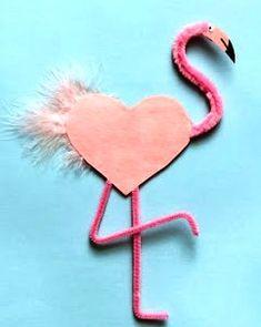 Валентинки на день Святого Валентина - поделки для детей 5 лет 9