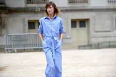 CHIC BLUE   new #streetstyle post on #thestreetmuse by #melaniegalea in #paris