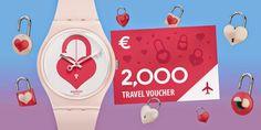 Amostras e Passatempos: Valentine's Day 2015 Contest by SWATCH (open world...