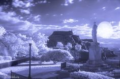 Infrared Corfu, Old Fortress of Corfu & I.Kapodistrias by Βασίλης Μεταλληνός on 500px
