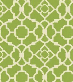 Guest/Craft/Spare Bedroom ~ Home Decor Fabric-Waverly Lovely Lattice Jungle, , hi-res