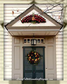 Colonial Williamsburg doorway