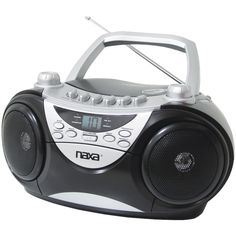 Portable Cd Player Am And Fm Radio & Cassette Player And Recorder