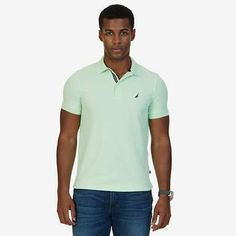 Nautica Slim Fit Performance Polo Shirt Polos 8651e64507729