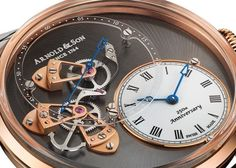 Arnold and Son DSTB Watch Closeup