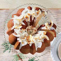 Coconut-Macadamia Nut Pound Cake - Showstopping Christmas Cake Recipes - Southern Living