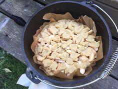 Apfelkuchen aus dem Dutch Oven - Männersteak