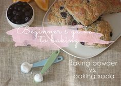 Ever wondered what's the difference between baking soda and powder? Find out here and get the recipe for the perfect blueberry and lemon scone...