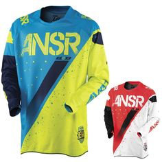 Red//White Answer Racing A17.5 Elite Limited Edition Halo Mens Off-Road Motorcycle Jerseys Medium