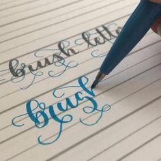Flourish lettering w praktyce, ozdobny napis. Piekne literki Hand Lettering Tutorial, Pen Design, Ornament, Decoration, Ornaments, Jewelry Accessories