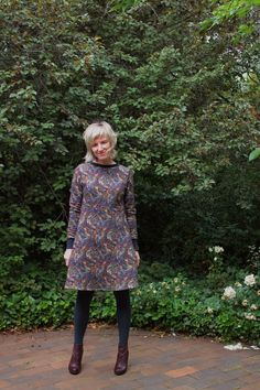 Liberty Linfield Fleece dress  in Saxby