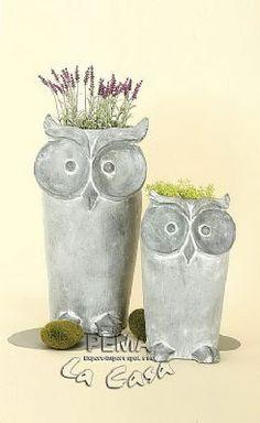 Decoration flower pot Owl