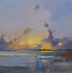 Home - House Garden Landscape Seascape Paintings, Landscape Paintings, Old Paintings, Abstract Landscape, Abstract Art, Peter Wileman, Plakat Design, Encaustic Art, Sea Art