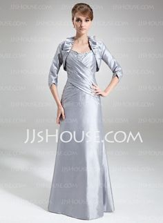 Mother of the Bride Dresses - $128.99 - Sheath Sweetheart Floor-Length Taffeta Mother of the Bride Dress With Ruffle Beading Sequins (008006075) http://jjshouse.com/Sheath-Sweetheart-Floor-Length-Taffeta-Mother-Of-The-Bride-Dress-With-Ruffle-Beading-Sequins-008006075-g6075