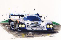 Porsche 956 by klem.deviantart.com on @DeviantArt