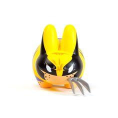 Wolverine Labbit, $49.99, now featured on Fab. [Marvel, Kidrobot]