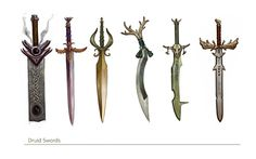 Swords by FreShPAiNt on DeviantArt