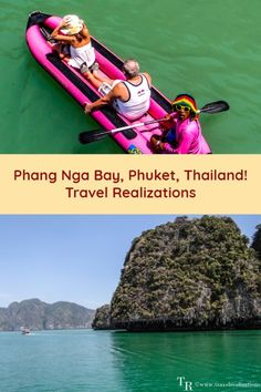 The Ao Phang Nga National Park, famous for its classic karst scenery, sea caves and lagoons is a part of Phang Nga Bay in Phuket, Thailand. #Travel #Thailand #Phuket #thailandtravel #thailandtraveltips #travelblog