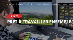 ProdLAb est un chef de file eCommerce Company Site de création en France