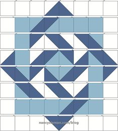 result for Traditional Barn Quilt Patterns Free Printable Quilt Square Patterns, Beginner Quilt Patterns, Barn Quilt Patterns, Modern Quilt Patterns, Quilting For Beginners, Pattern Blocks, Square Quilt, Triangle Quilt Pattern, Traditional Quilt Patterns