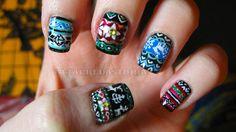 Attackedastoria Nails: nail art