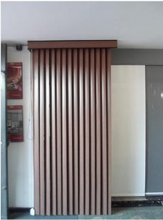 persiana horizontal imitación madera
