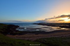 Evening view at Elie