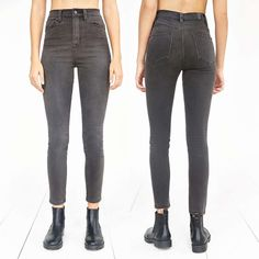 ❣REDUCED!❣UO BDG Super High Rise Twig Skinny Jean BDG Super High Rise Twig Skinny Ankle Jean. Sold at Urban Outfitters. Size 29.  Excellent Pre-Owned Condition!  **PLEASE VIEW ALL PHOTOS AND ASK ANY QUESTIONS BEFORE SUBMITTING OFFER OR BUYING!!**  Item comes from a smoke-free, pet-friendly home! Please note that although I do my best to lint-roll and remove all extra fibers, the occasional pet hair *may* sneak through.  Please view my other items! 15% off 2 or more! I will consider all…