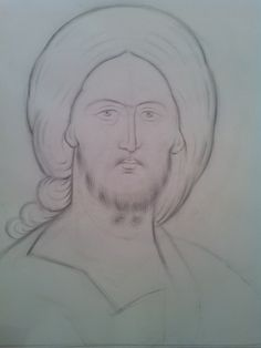 Teaching drawing more free materials on our site… Teaching Drawing, Holy Quotes, Best Icons, Byzantine Icons, Art Icon, Orthodox Icons, Painting Process, Fresco, Christianity