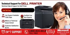 Problems with Dell Printers are tricky and complicated. We provide 24/7 Dell Printer Customer Service on phone. Contact us(1-800-824-4013) if you want the best customer service and online tech assistance for printers. Online tools and software of printer troubleshooting are used by us to assist you.Fast, efficient and reliable tech support for Dell printers is offered by us.
