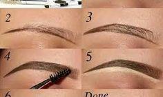 tutorial eyebrow ile ilgili görsel sonucu