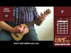 ▶ I'm Yours (Jason Mraz) - Ukulele Playalong - Tutorial - Lesson - YouTube