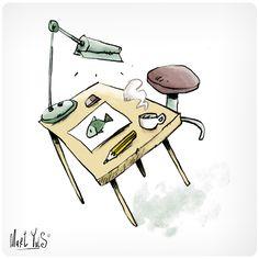 mesa de dibujo ~