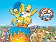The Simpsons Ride at Universal Studios Orlando!