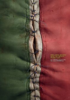 It Happens Here | FGM Human Rights Awareness Poster Advertising Campaign | Award-winning Art Direction | D&AD