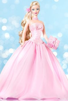 2003 / 2004 Birthday Wishes™ Barbie® Doll 2004 | Barbie Collector, Release Date: 11/1/2003 Product Code: C0860, $_