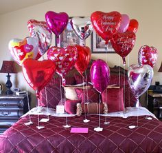 Do Romantic bedroom Decoration on Valentine's Day. Get 30 Cool ideas to turn your bedroom into a lovely place.. #valentinesday #bedroomdecor #lovers