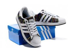 Adidas Superstar Weave Mens Shoes White Multi Color