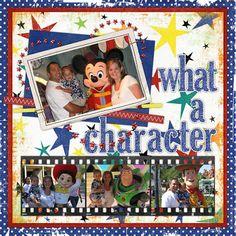 Ideas for Disney Scrapbook