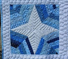 Blue and White Quilts   Blue and white quilt #1