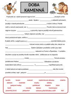 Doba bronzová a železná online worksheet for 6. You can do the exercises online or download the worksheet as pdf. School Subjects, School Humor, Google Classroom, Funny Kids, You Can Do, Sentences, Montessori, Homeschooling, Colorful Backgrounds