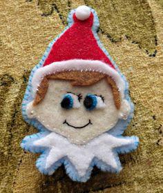 Elf on the shelf ornament