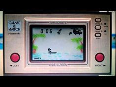 LCD Games: Parachute Nintendo Game & Watch