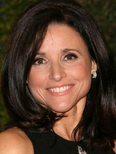 Julia Louis-DreyfusA rounded, shoulder-length cut frames the face, unlike longer hair, which can pull features down.