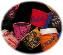 Cuddle Cup Koozies--In-the-Hoop project.