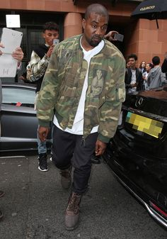 Kanye West's Yeezy Clothing Label Sued for Allegedly Copying Another Brand's Camouflage Print