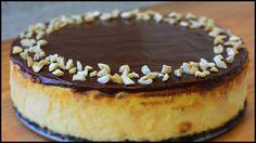 Nutella Cheesecake with Oreo Crust Recipe ❤