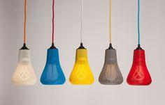 The award-winning Plumen bulbs :The world's first designer, low energy, light bulb.