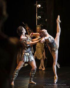Natalia Osipova and Sergei Polunin in Spartacus