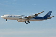 LAN Airlines Airbus A340 with it's gorgeous livery